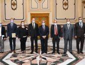 وزير الدولة للإنتاج الحربى يستقبل سفير المجر لبحث التعاون المشترك