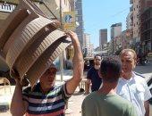 إزالة 340 إشغال طريق خلال حملة إزالة إشغالات بكفر الدوار