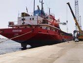 تداول 25 سفينة بموانئ بورسعيد وتفريغ 63 ألف طن قمح روسى