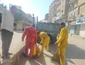 تكثيف أعمال النظافه والتجميل و إزالة ملصقات بمدن و مراكز الشرقية (صور)
