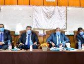 رئيس جامعة بنى سويف يعلن 6 ملايين جنيه لتوصيل كابلات الإنترنت للكليات