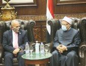 مفتى الجمهورية لوفد أمريكى: الإسلام يعترف بالتعددية الدينية ومصر لديها تجربة فريدة