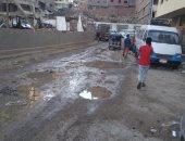 شكوى من تسرب مياه الشرب أسفل المنازل بشارع عثمان بن عفان فى مدينة نصر