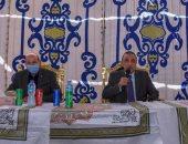 محافظ الإسكندرية يطمئن أهالى أبيس بعدم تكرار مشكلة تجمعات مياه الأمطار