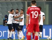 إيطاليا يدمر شباك مولدوفا بخماسية فى الشوط الأول.. فيديو