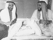 """محمد بن زايد في ذكرى رحيل راشد بن سعيد: """"عرفناه قائدا صاحب عزيمة لا تلين"""""""