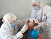 توقع الكشف الطبى على 1420 حالة خلال قافلة طبية بقرية تل العمارنة بالمنيا