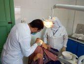 الكشف على 1380 مريضا خلال قافلة طبية مجانية بقرية بولين بمركز كفر الدوار