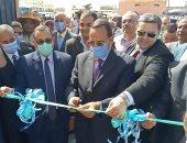 محافظ شمال سيناء يفتتح عددا من المشروعات التنموية ببئر العبد