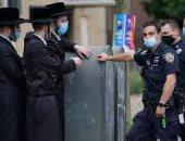 احتجاجات يهودية فى نيويورك بسبب قيود كورونا خلال عيد الغفران