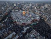 14.5 مليون شخص زاروا كربلاء العراقية فى أربعينية الإمام الحسين