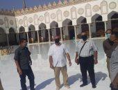 الآثار تؤكد سلامة الجامع الأزهر وعناصره المعمارية والزخرفية من الحريق