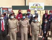 جامعة حلوان تشارك فى المعرض السنوى الثالث عشر للثقافات العسكرية