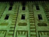لا إصابات بحريق الجامع الأزهر.. وفصل التيار الكهربائى عن المسجد.. صور