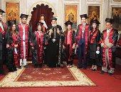 البابا تواضروس يشارك فى حفل تخرج طلاب الثانوية والجامعات فى الاسكندرية