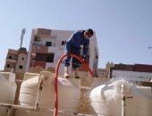 مياه البحر الأحمر تبدأ حملة تطهير خزانات المدارس استعدادا لبدء العام الدراسى