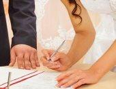 ارتفاع عقود الزواج إلى 98.5 ألف عقد بعد افتتاح القاعات يوليو الماضى