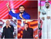 نجوم الغناء يحتفلون بذكرى نصر أكتوبر في مدينة الجلالة.. ألبوم صور