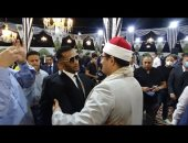 صورة للشيخ محمود الشحات أنور ومحمد رمضان تثير الجدل على السوشيال ميديا