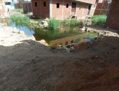 القابضة للمياه تستجيب لشكوى أهالى منطقة حوض النيل بالمرج وتسحب مياه الصرف