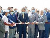 محافظ شمال سيناء يفتتح 3 محطات لتحلية المياه بوسط سيناء.. فيديو وصور