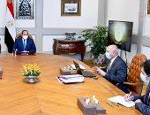 الرئيس السيسى يوجه بدعم المخصصات المالية اللازمة لمشروعات وزارة النقل
