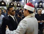 نمبر وان المشايخ.. صورة القارئ محمود الشحات أنور ومحمد رمضان تثير جدل