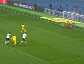 """أوكرانيا ضد ألمانيا.. شباك الماكينات تهتز بالهدف الأول والنتيجة 2 - 1 """"فيديو"""""""