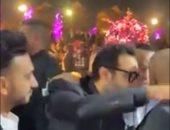 خلاف شيكابالا وأحمد فهمى بسبب الأهلى والزمالك بدأ بتهدئة وانتهى بمشادة..فيديو