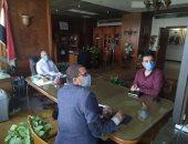 وزير الرى يناقش الخطة الإعلامية وبرامج رفع الوعى المائى بالقضايا الملحة