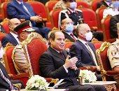 الرئيس السيسى: لا يمكن هزيمة مصر بحرب من الخارج.. أخبار مصر