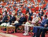السيسي بالندوة التثقيفية الـ32: لا يمكن هزيمة مصر بحرب من الخارج