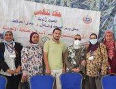 صور ..القوافل الطبية المجانية تجوب أحياء الإسكندرية