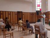 رئيس الكنيسة الأسقفية يترأس قداس خدمة الأجانب بكاتدرائية الزمالك