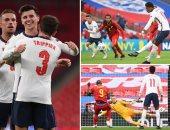 موعد مباراة إنجلترا ضد الدنمارك في دوري الأمم الأوروبية والقنوات الناقلة