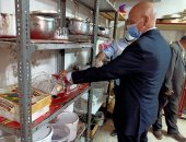 غلق مصنع حلويات مخالف بفاقوس وإعدام 1.5 طن منتجات غير مطابقة للمواصفات