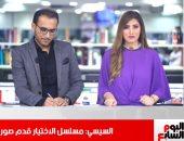 """أحمد الرافعى لـ""""تليفزيون اليوم السابع """": عايش فرحة تكريم  الرئيس لى منذ معرفتى"""