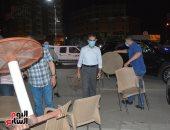 محافظ الغربية يقود حملة ليلية مكبرة لرفع الإشغالات وإعادة الانضباط بالشوارع