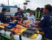 مصرع 17 شخصا وإصابة 30 آخرين فى اصطدام قطار بحافلة سياحية وسط تايلاند