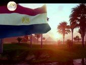 """السيسي يشاهد فيلما تسجيليا بعنوان """"حكاية علم"""" خلال الندوة التثقيفية.. فيديو"""