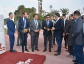 وزارة الرياضة تواصل فعاليات مشروع اكتشاف الموهوبين بمركز شباب الجزيرة