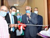 وزير التعليم العالى يفتتح الوحدات التعليمية والتدريبية فى طب الأسنان جامعة المنصورة