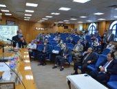 محافظ المنيا يشهد حفل تكريم وكيل وزارة التربية والتعليم لبلوغه سن المعاش