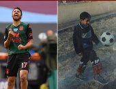 تريزيجيه يقارن بين طفولته وتحقيق حلمه: لا تستسلم بسهولة فربما تكون قدوة
