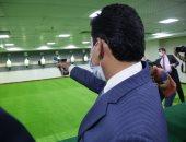 وزير الرياضة يفتتح ميدان الرماية الجديد بالمركز الأوليمبي بالمعادى
