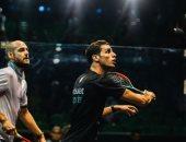 انطلاق منافسات ربع نهائى مصر الدولية للاسكواش بـ4 مباريات