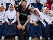 بيكهام يدعم المحجبات فى اليوم العالمى للفتاة: تستحق بناتنا نفس الفرص.. صور