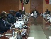 وزير العدل السودانى يجتع وممثلى حركات الكفاح المسلح الموقعين على اتفاق جوبا