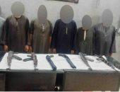 الداخلية تضبط 6 قطع سلاح في حملات أمنية بأسيوط