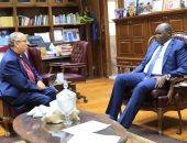 رئيس الكنيسة الأسقفية وسفير جنوب السودان يناقشان تسهيل إجراءات السودانيين بمصر